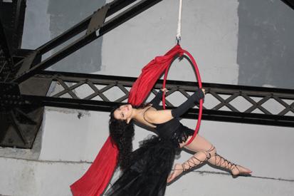 Joanne Lorddess Camilleri hoop act