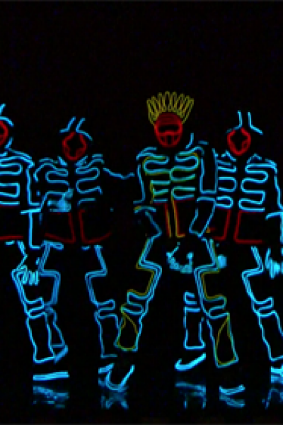 LED Tron Dance Show